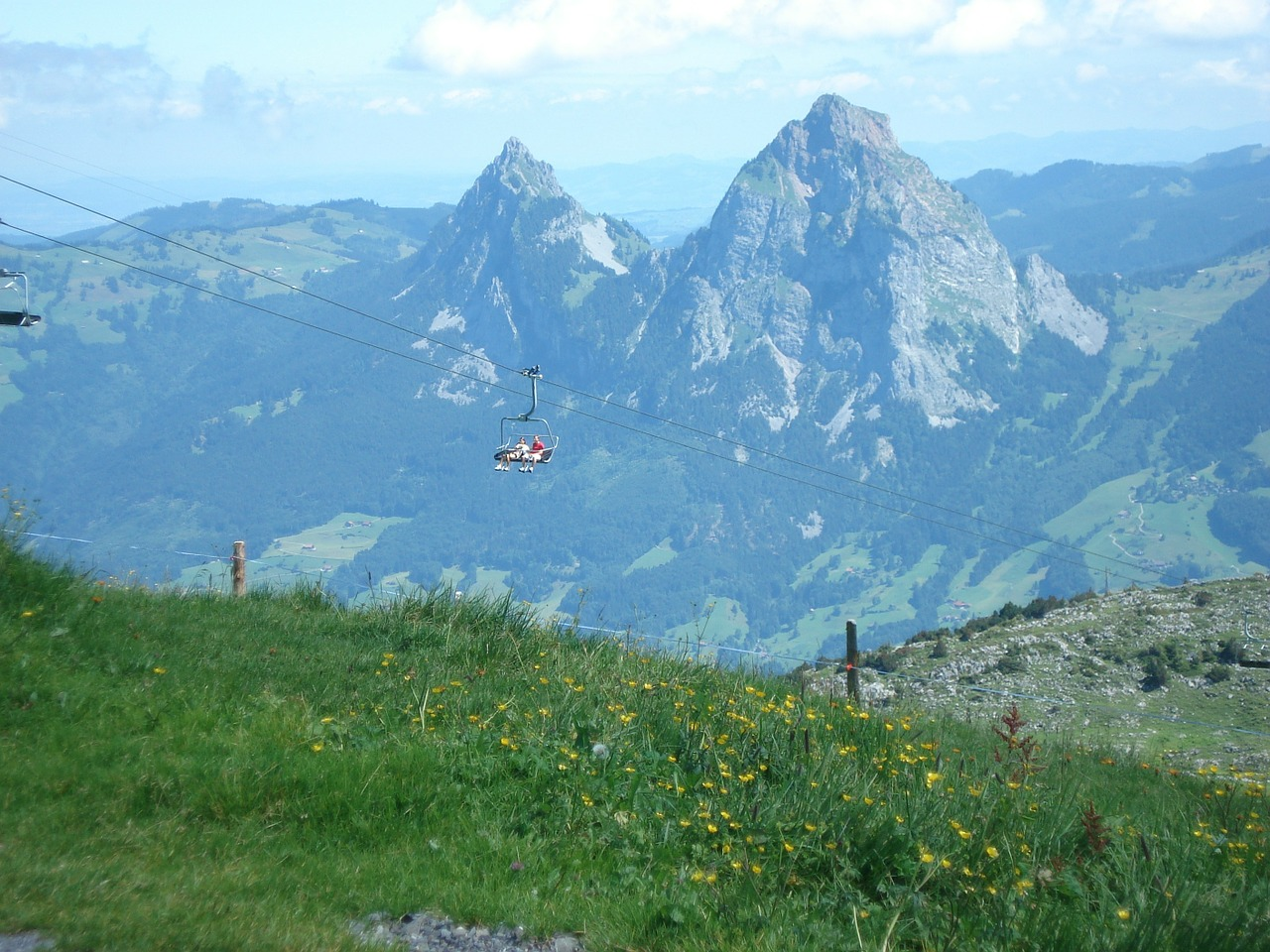 schwyz fronalpstock myths free photo