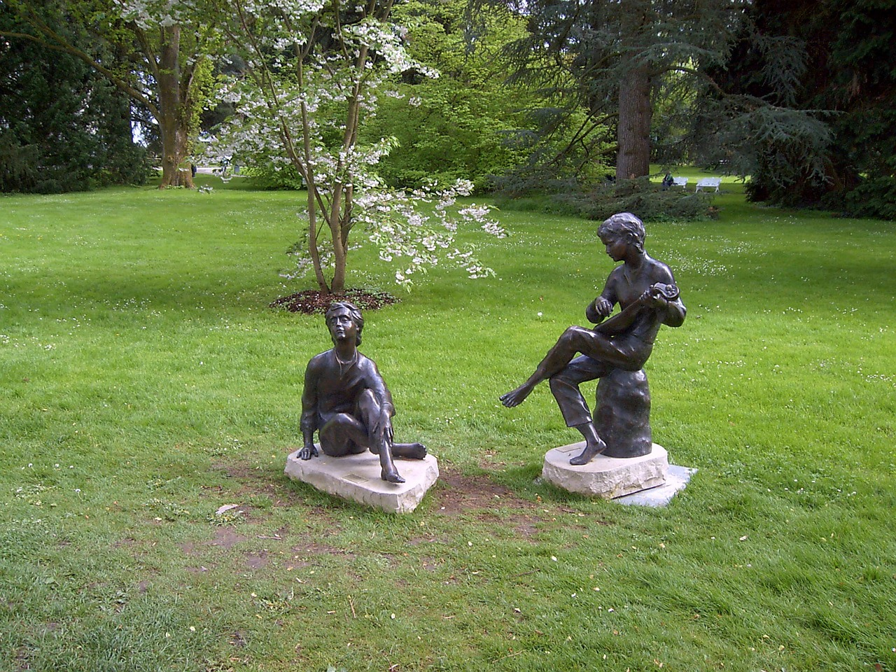 sculpture gardens statue free photo