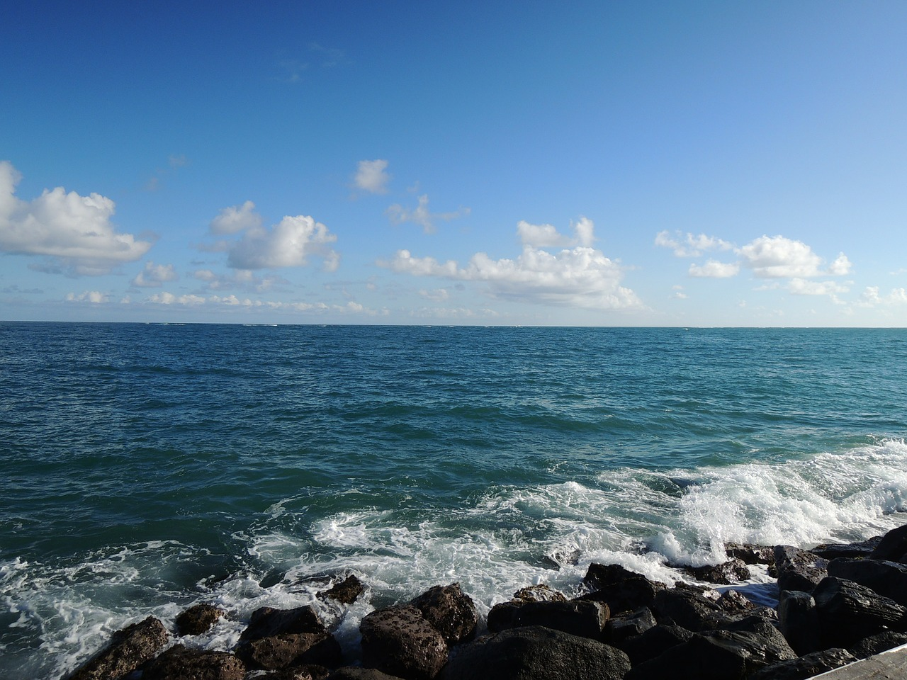sea puerto rico sight free photo