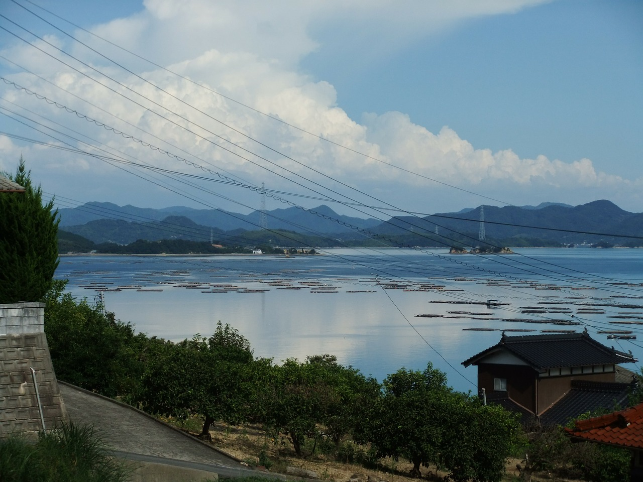 sea suo oshima seto inland sea free photo