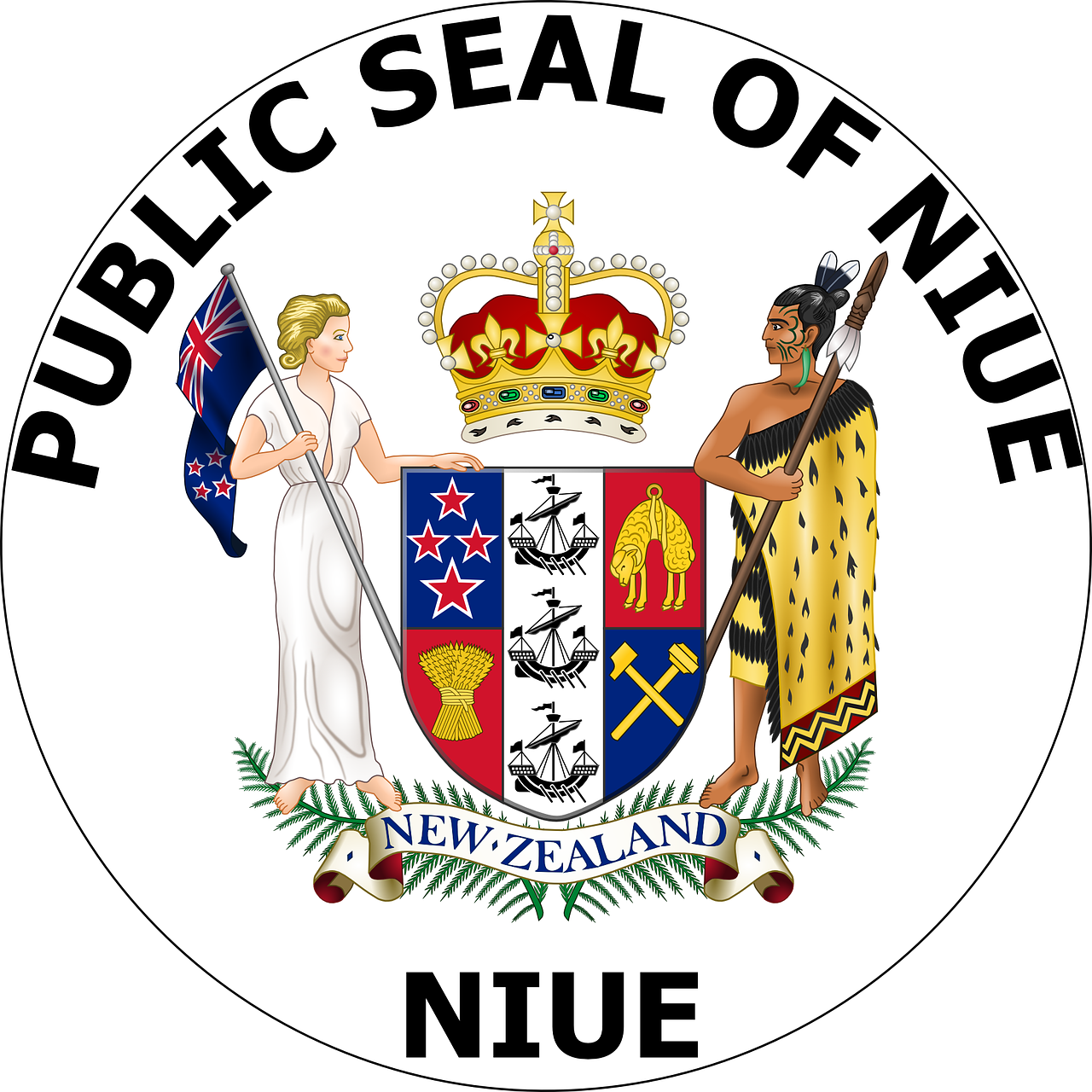 seal new flag free photo