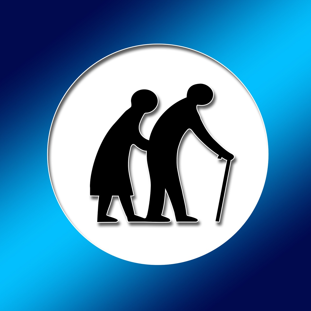 seniors care for the elderly retirement home free photo
