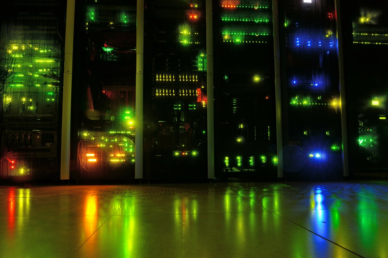 server,room,datacenter,network,leds,night,free pictures, free photos, free images, royalty free, free illustrations, public domain