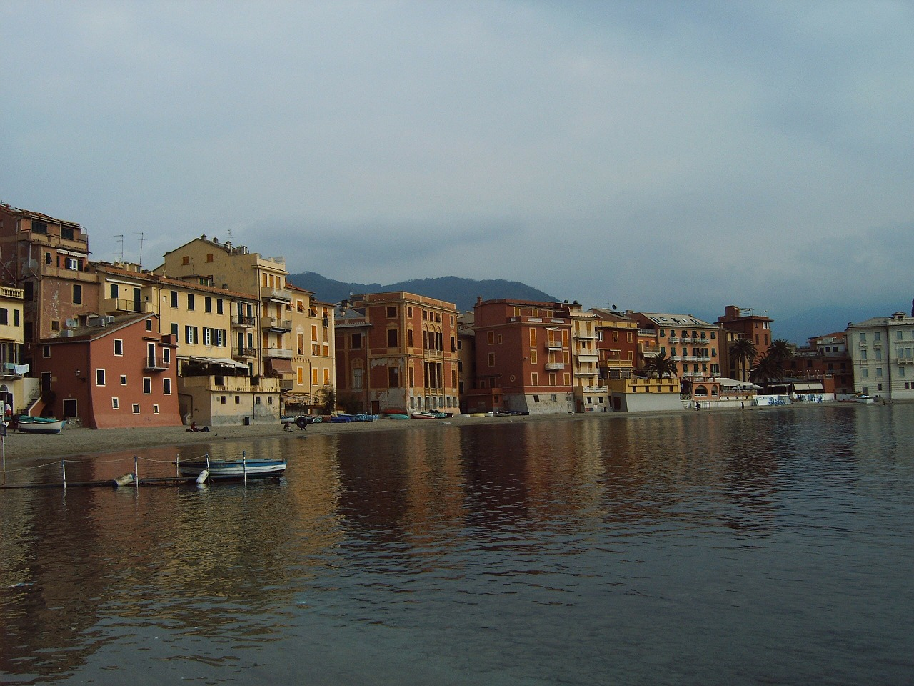 sestri levante italy coast free photo