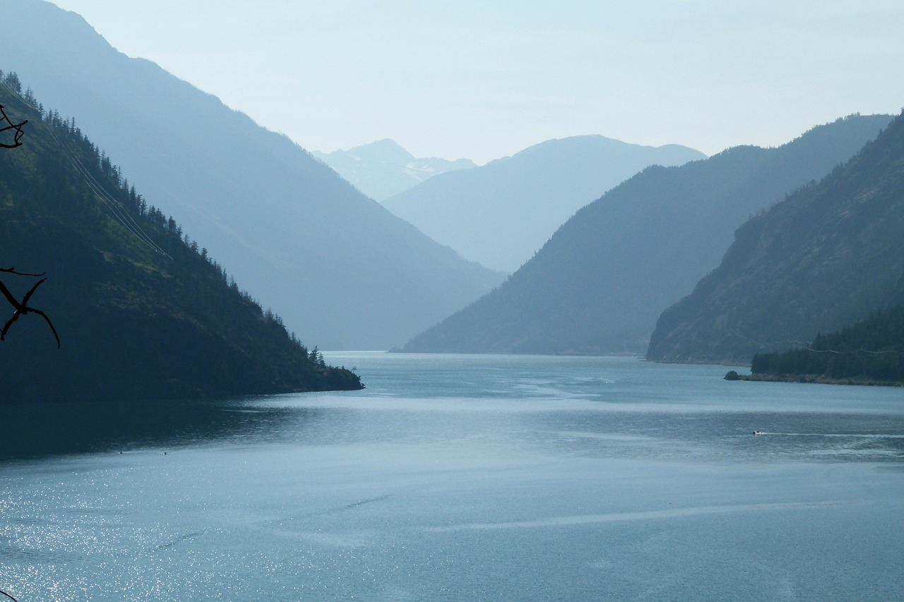 seton lake lillooet british columbia free photo