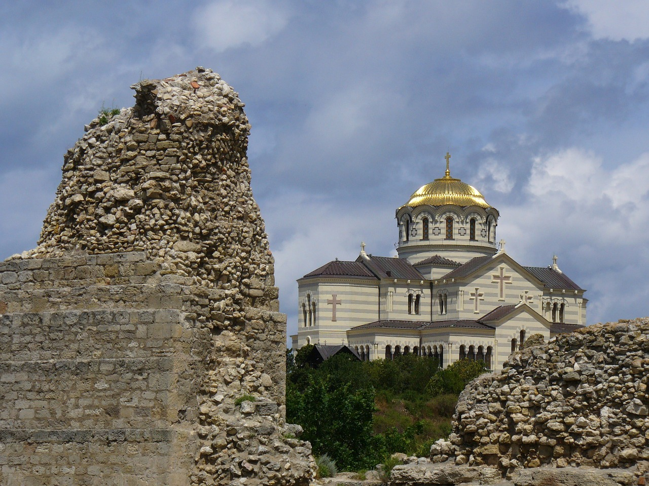 sevastopol ukraine st vladimir cathedral free photo