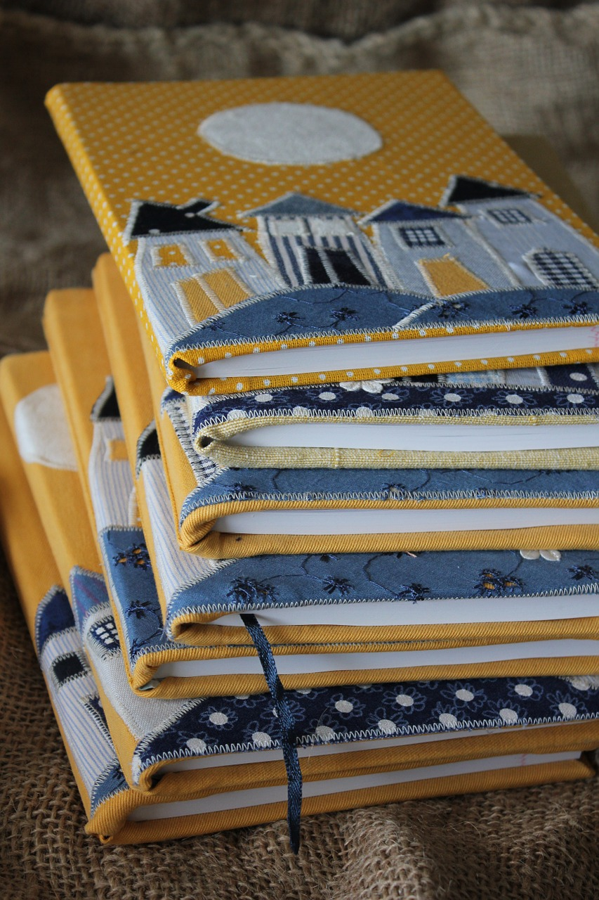 sewing,workbook,dum,yellow,blue,free pictures, free photos, free images, royalty free, free illustrations