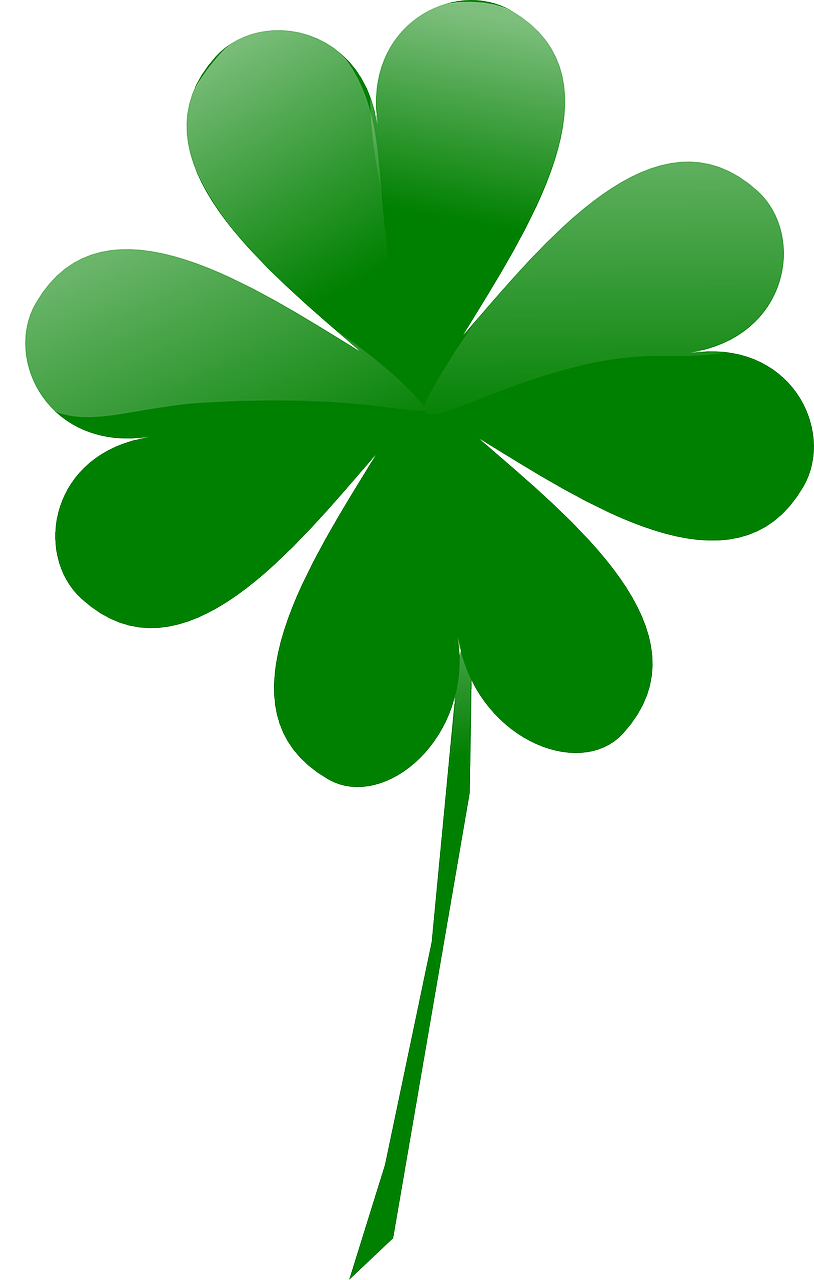 shaded,leaf,shamrock,march,luck,day,irish,clover,lucky,free vector graphics,free pictures, free photos, free images, royalty free, free illustrations, public domain