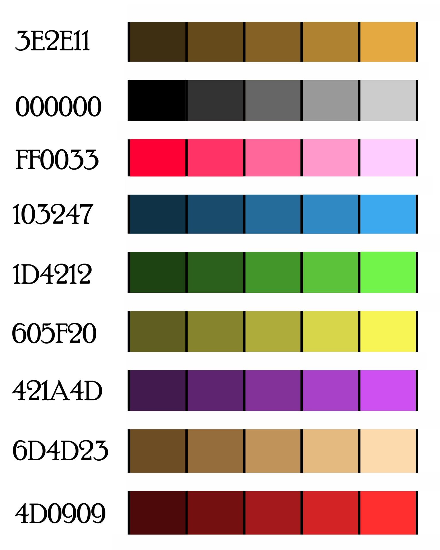 Color Paint Palette Free Picture