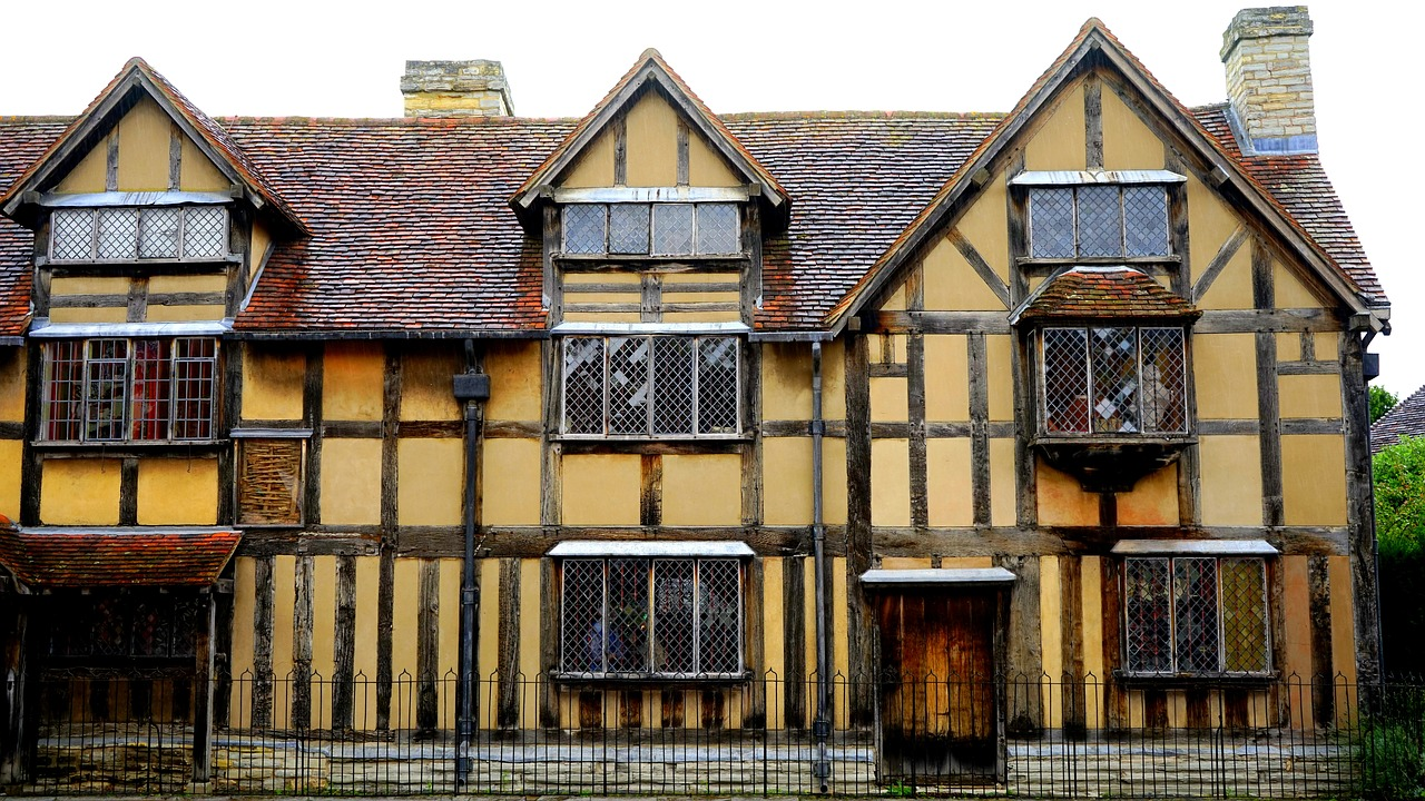 shakespeare house architecture free photo