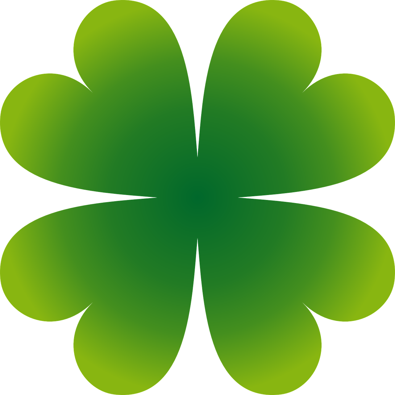 shamrock four leaf clover leaf free photo