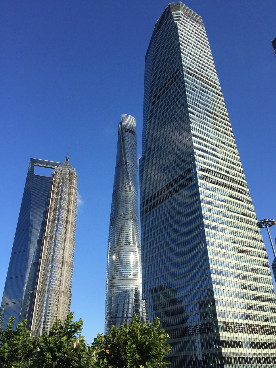 Shanghai Tower China Skyscrapers Buildings Modern Architecture