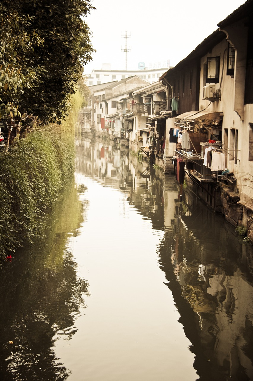 shaoxing watertown the ancient town free photo