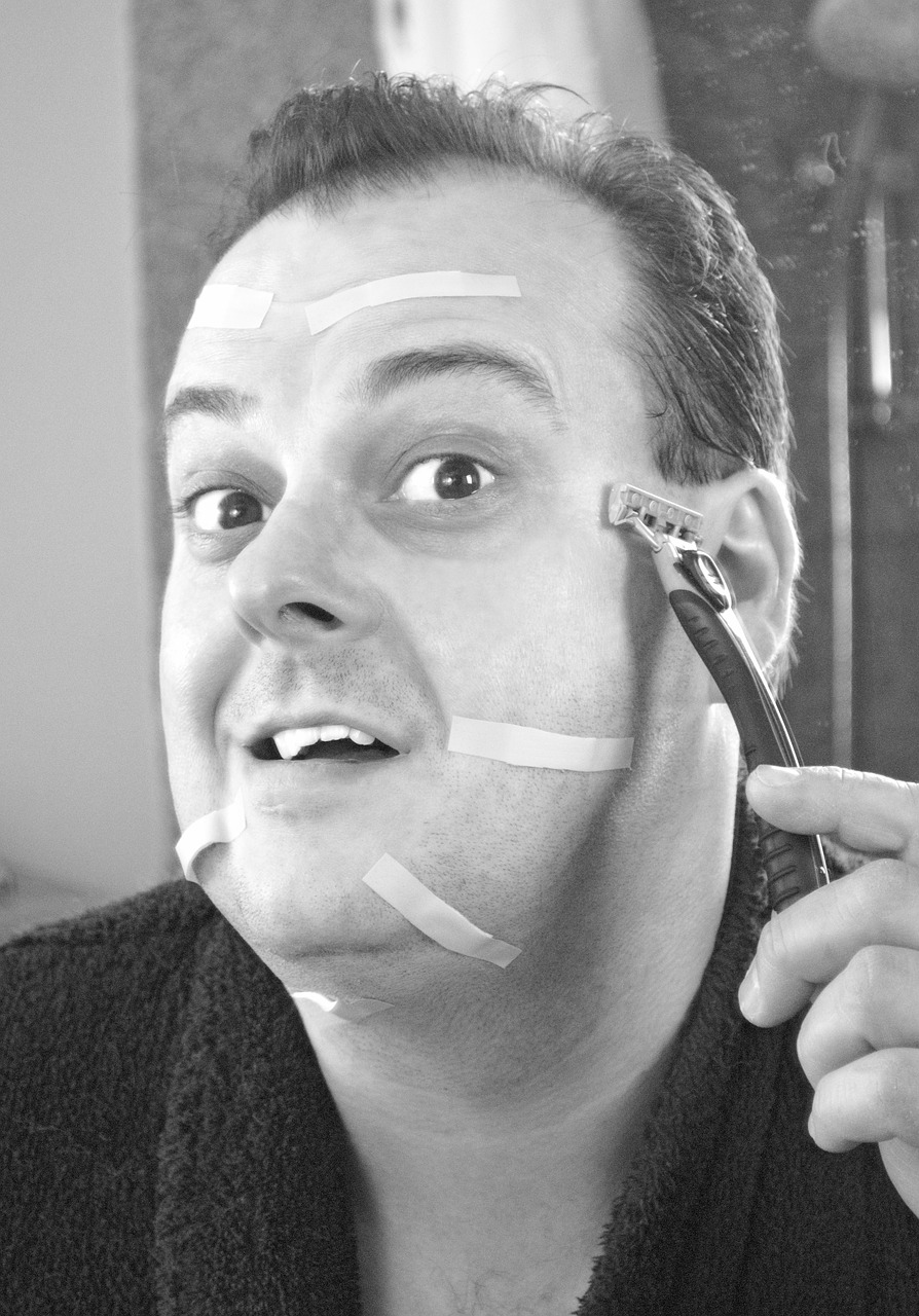 shave shaving comedy free photo