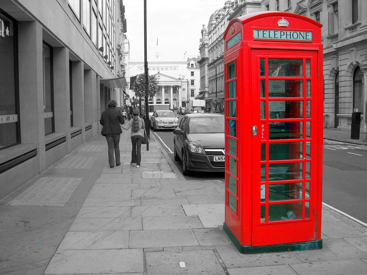 shed telephone red free photo
