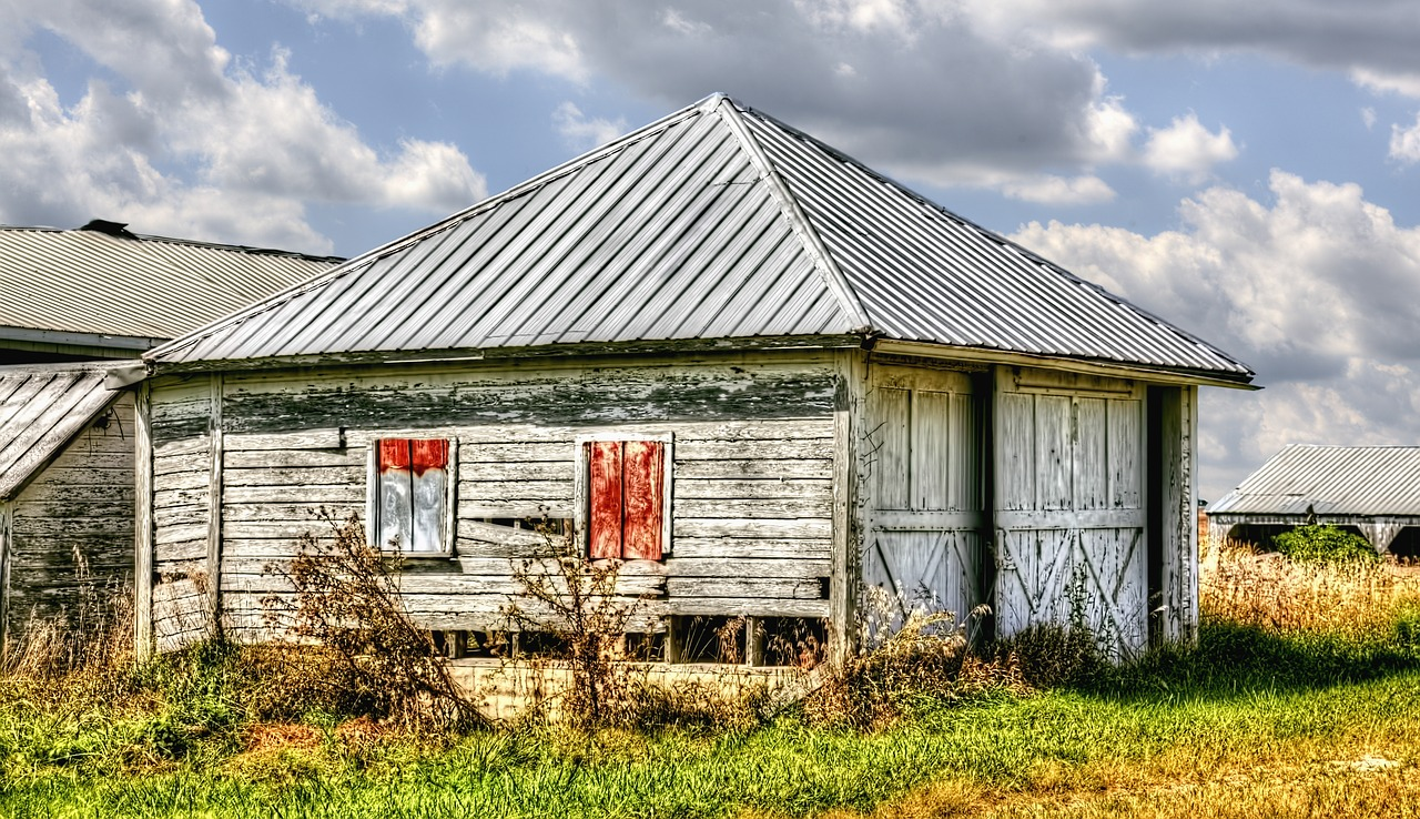 shed sheds barns free photo