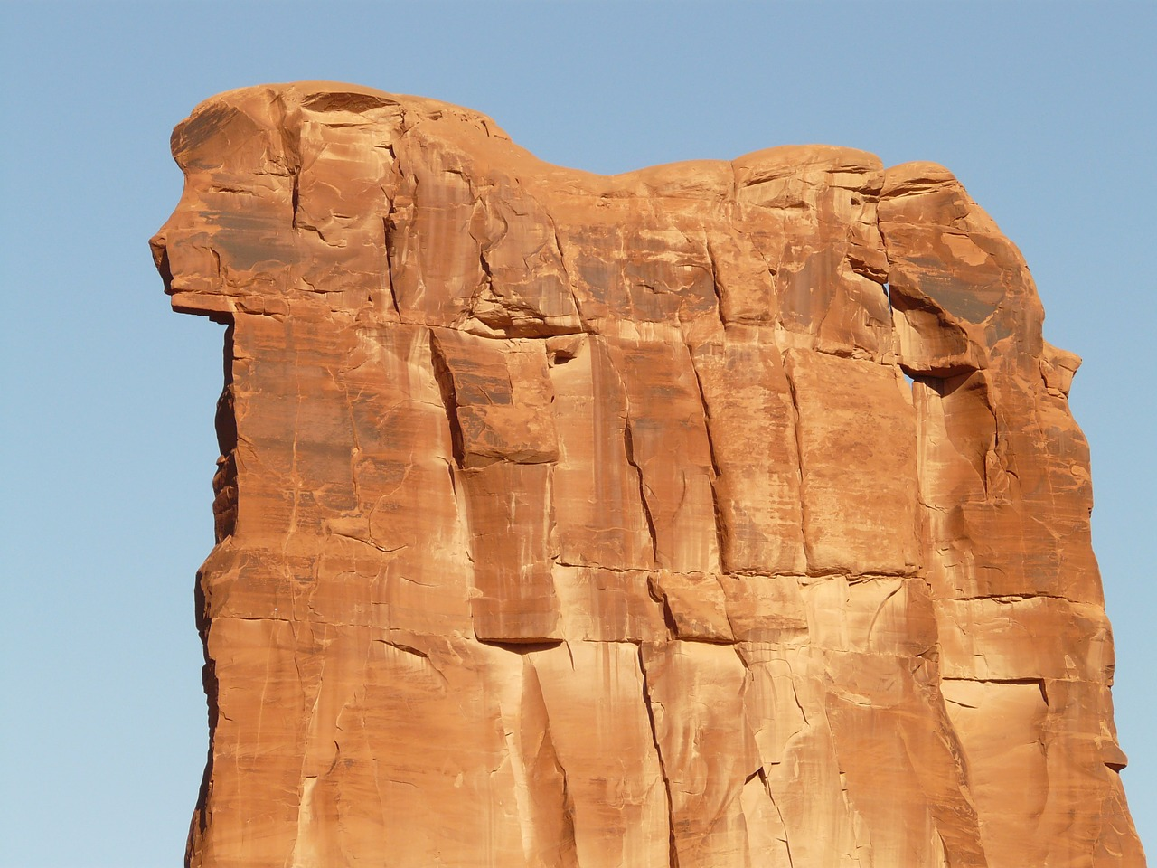 sheep rock sheep rock ark arches free photo