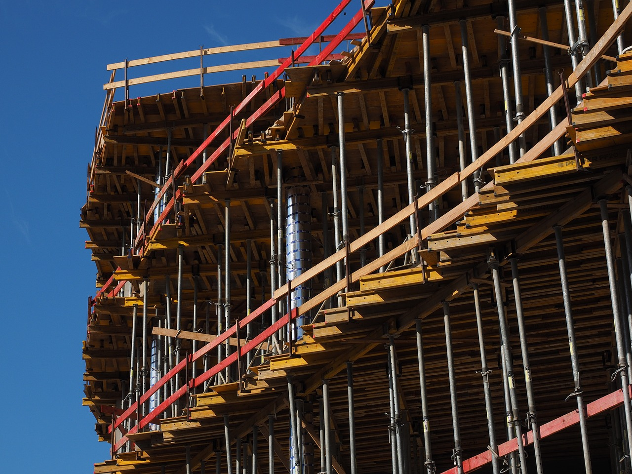 shell home scaffold free photo