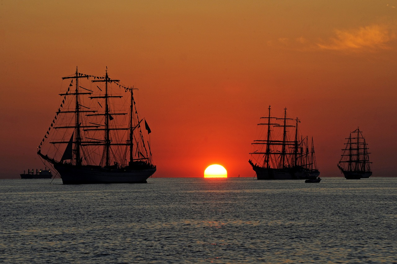 ships tall sailing free photo