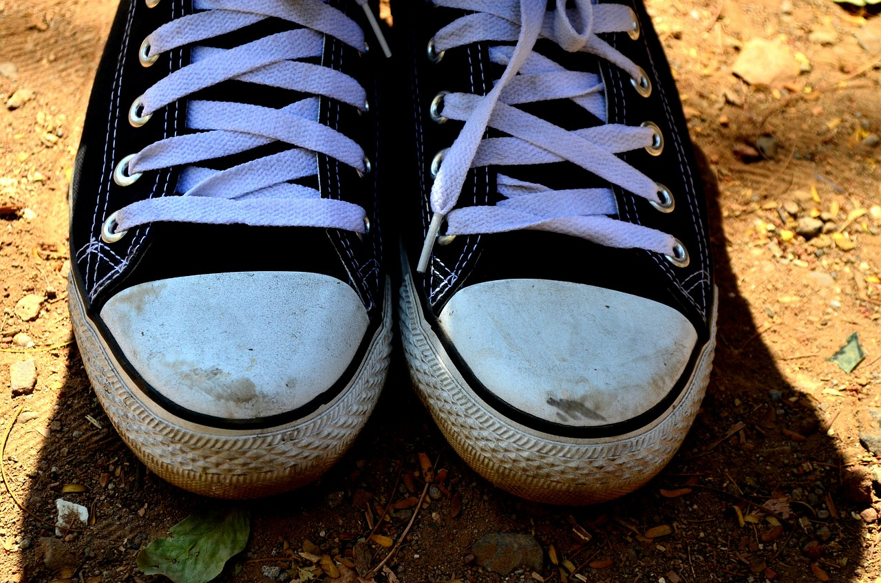 shoelaces shoes sneakers free photo