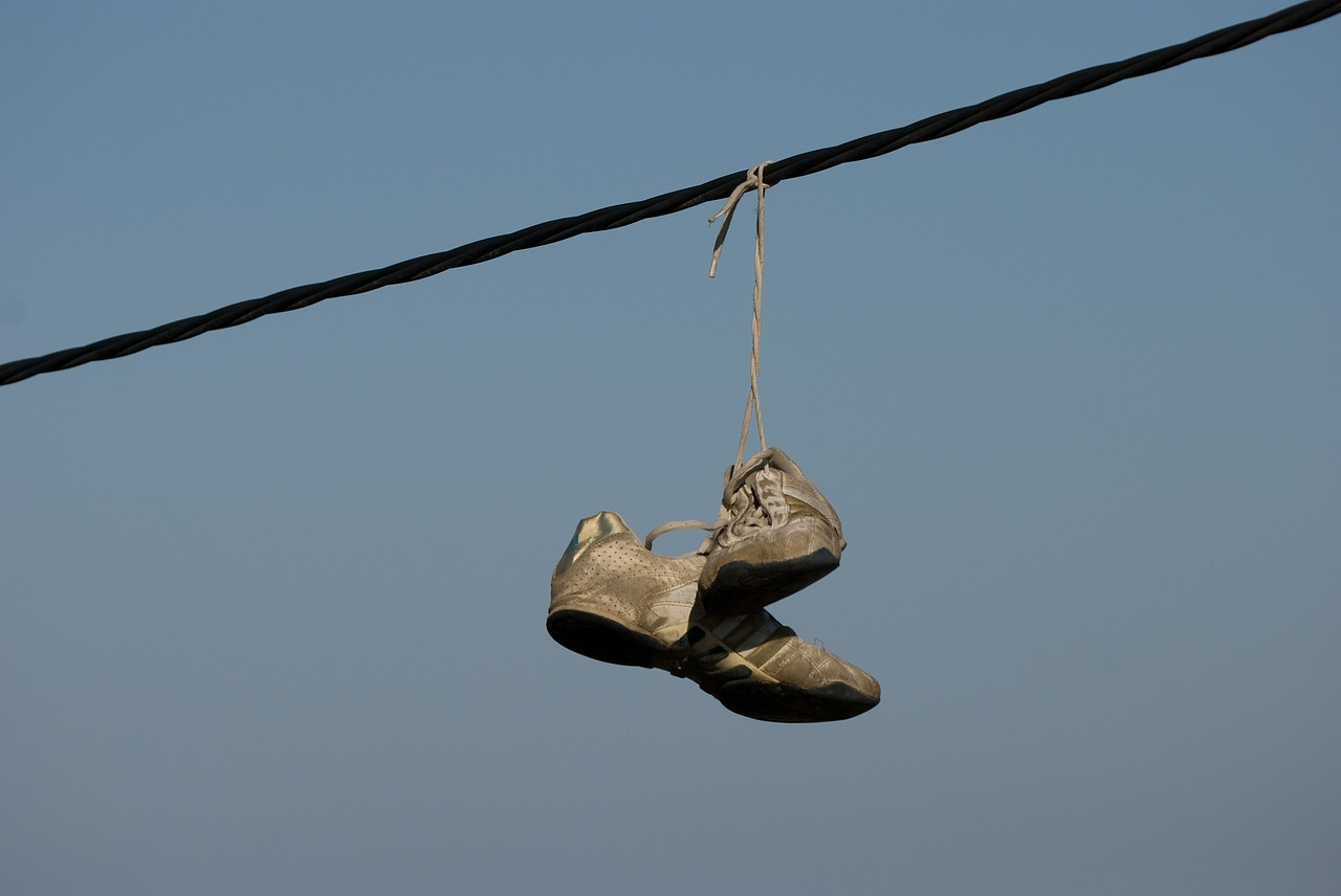 shoes sky rope free photo