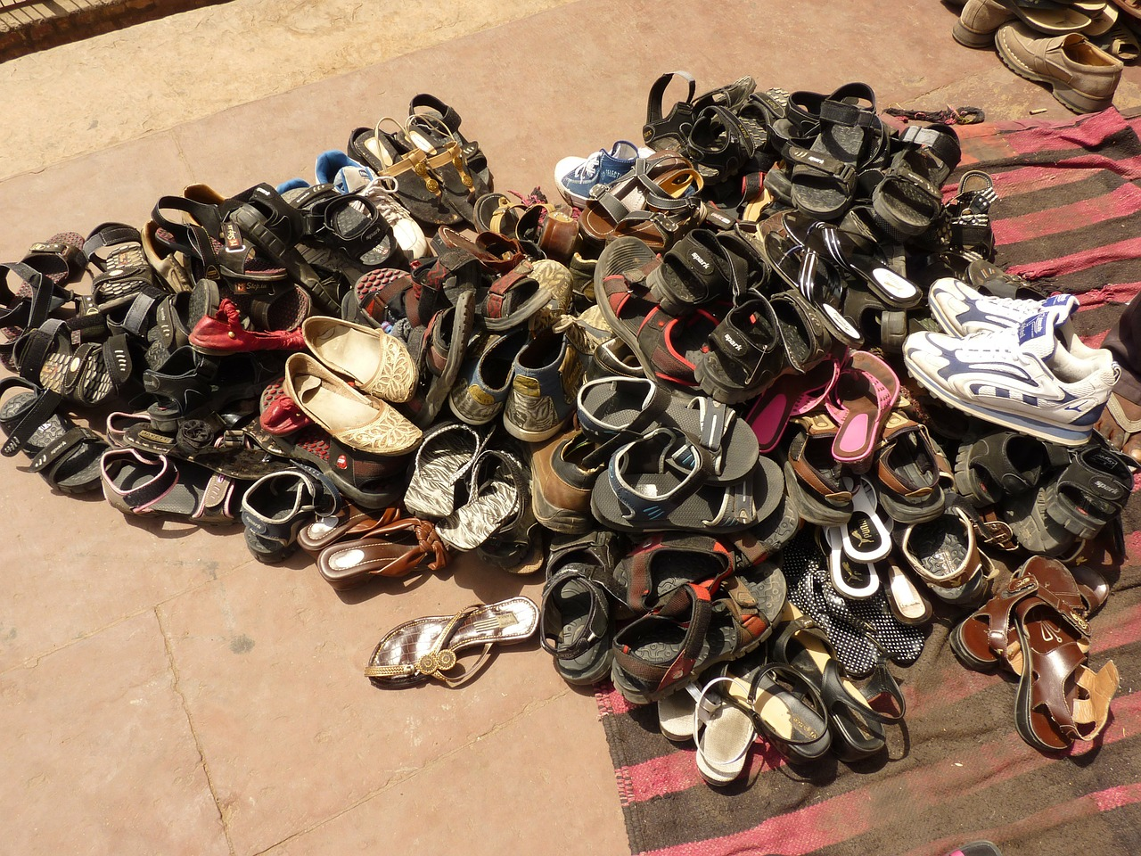 shoes sandals mosque free picture
