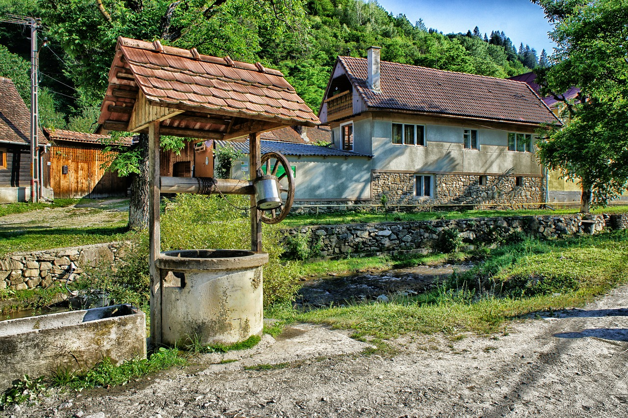 sibiel romania well free photo