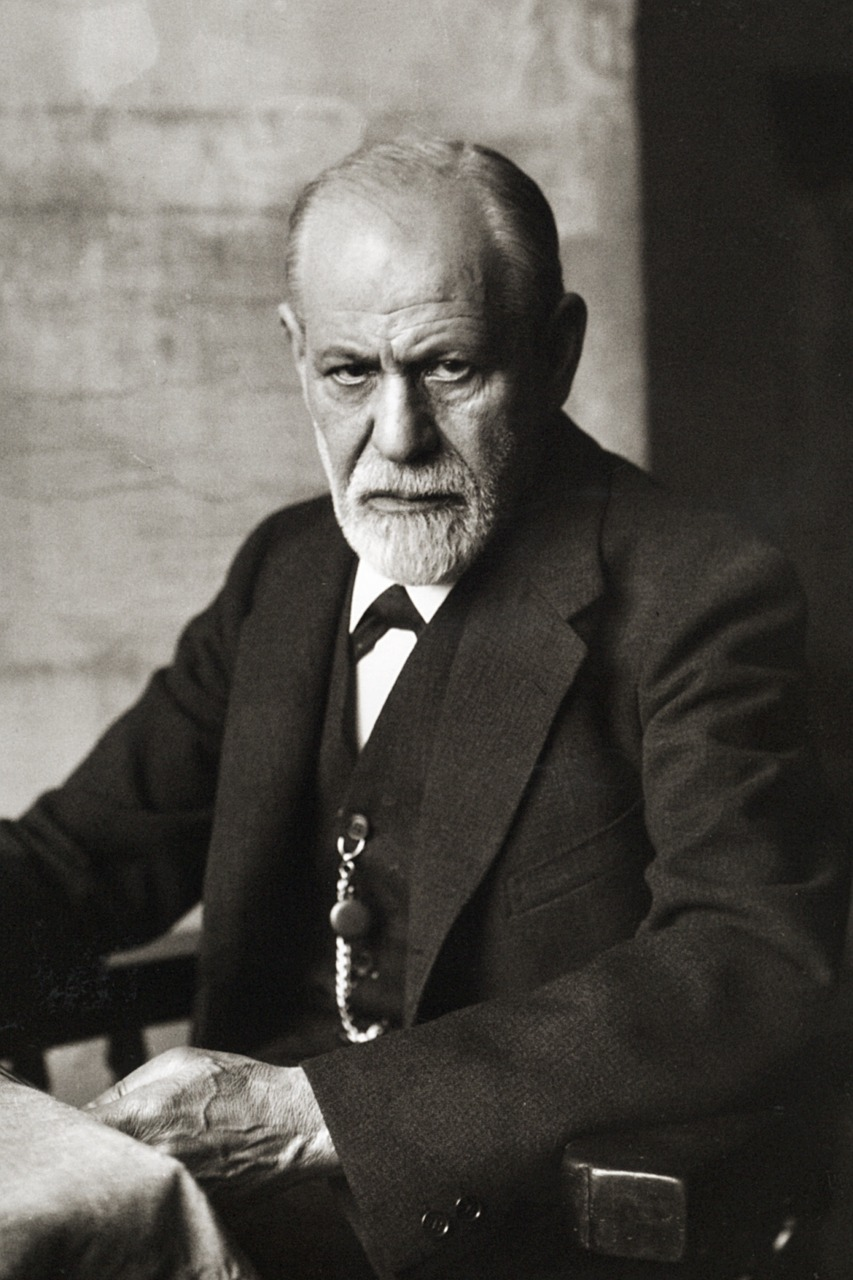 sigmund freud portrait 1926 founder of psychoanalysis free photo