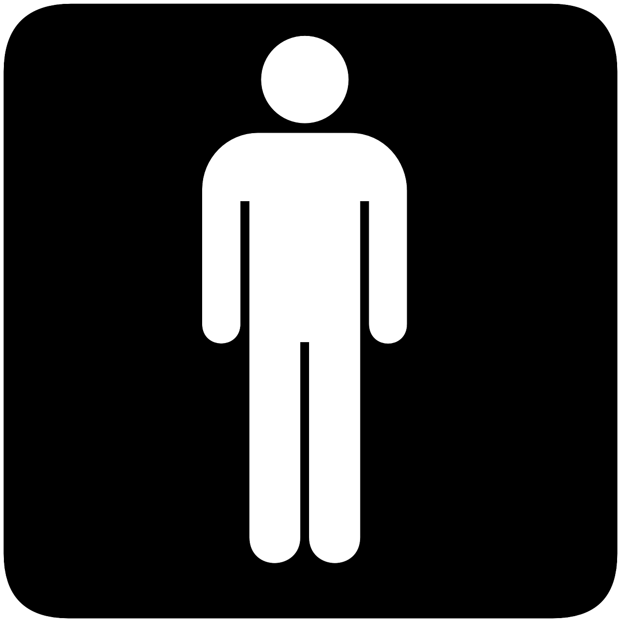 sign gender toilets free photo