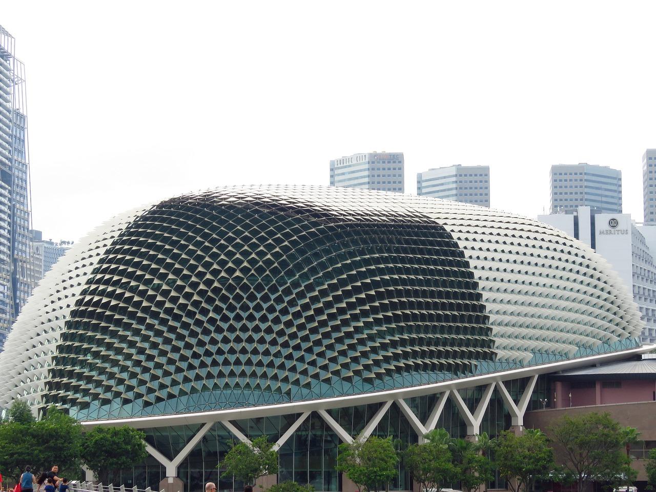 все фото зданий в сингапуре бумажные