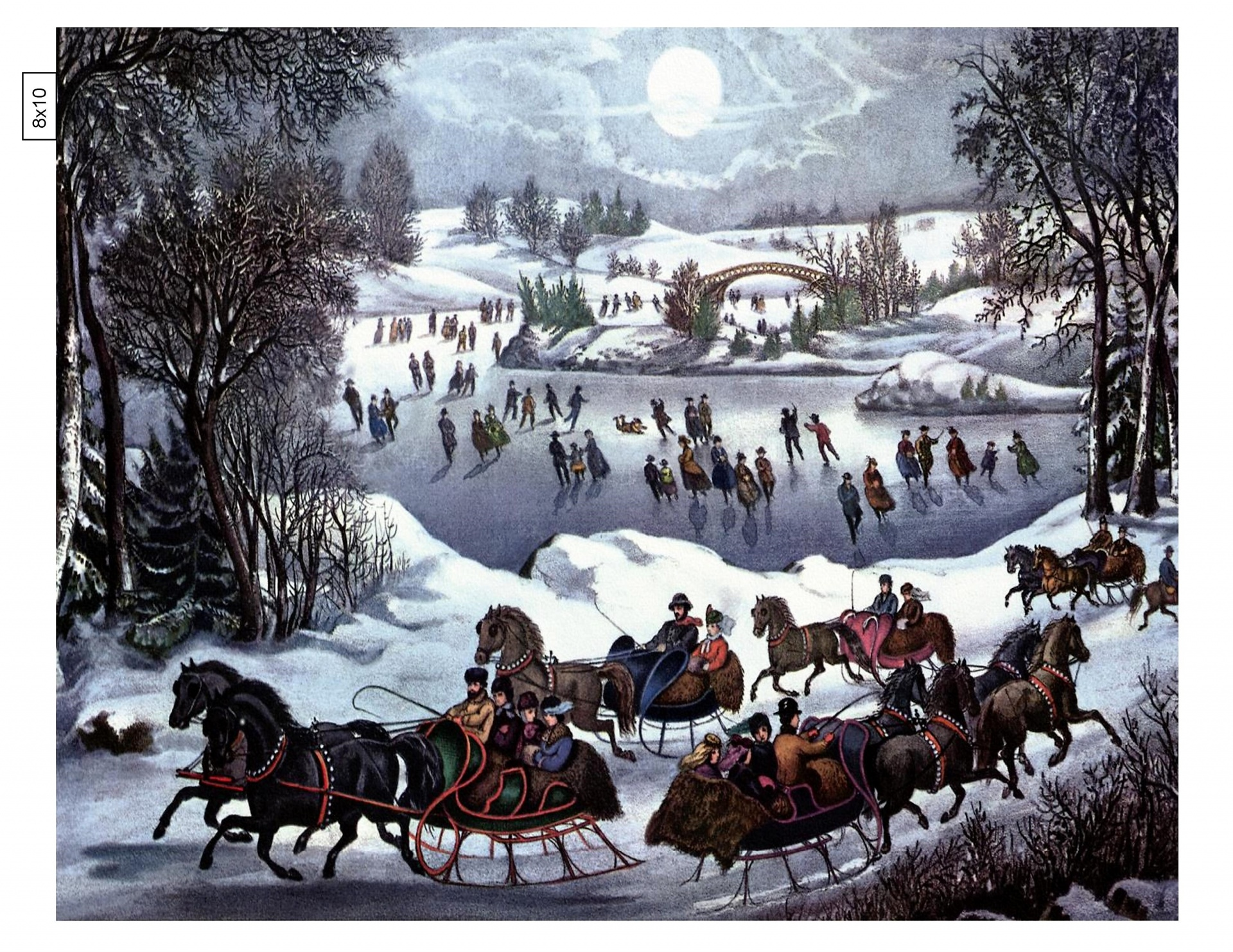 Download Free Photo Of Skating Ice Horse Sleigh Winter From Needpix Com
