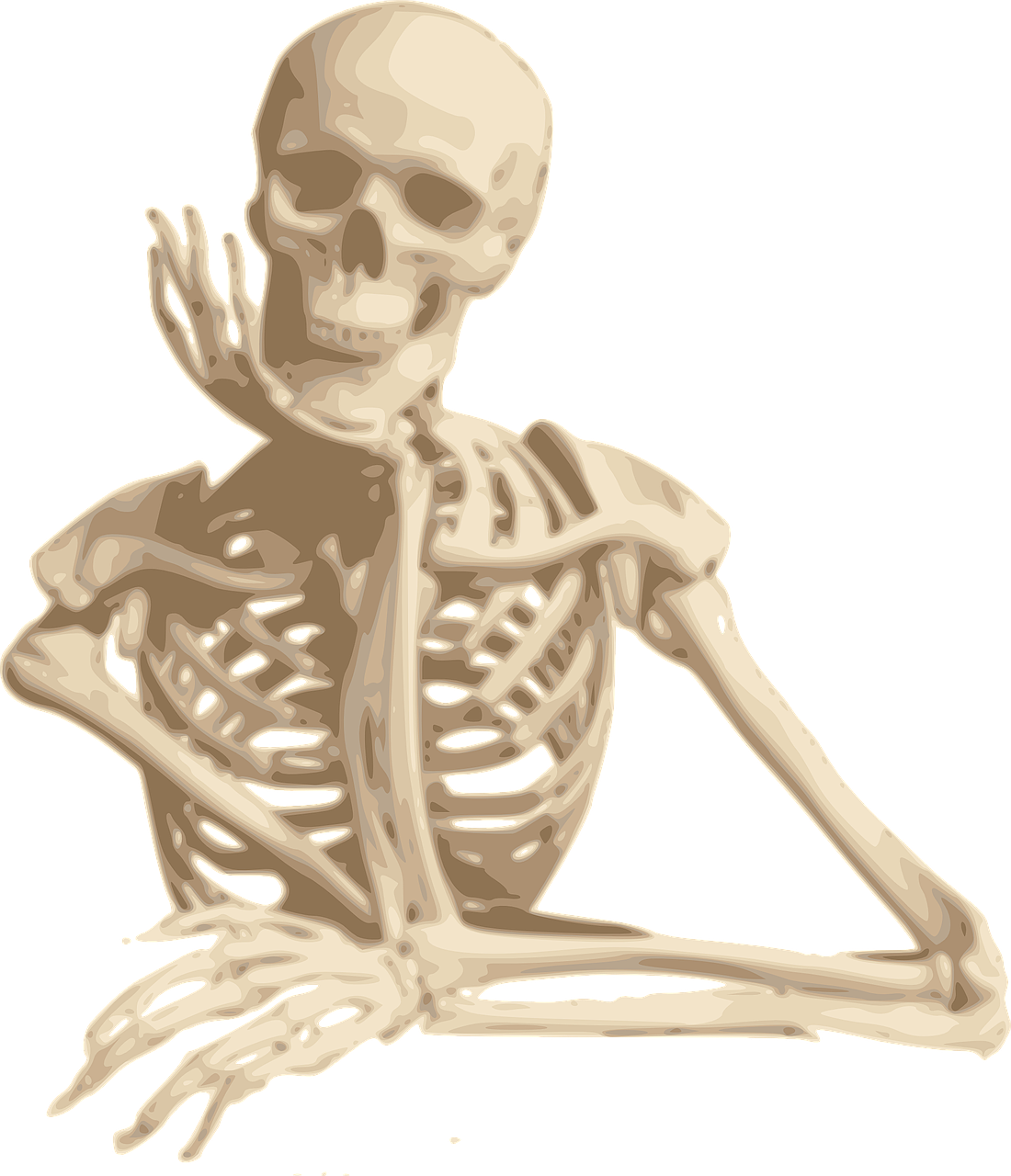 skeleton,smiling,sitting,cartoon,isolated,spooky,looking,character,bones,funny,free vector graphics,free pictures, free photos, free images, royalty free, free illustrations, public domain