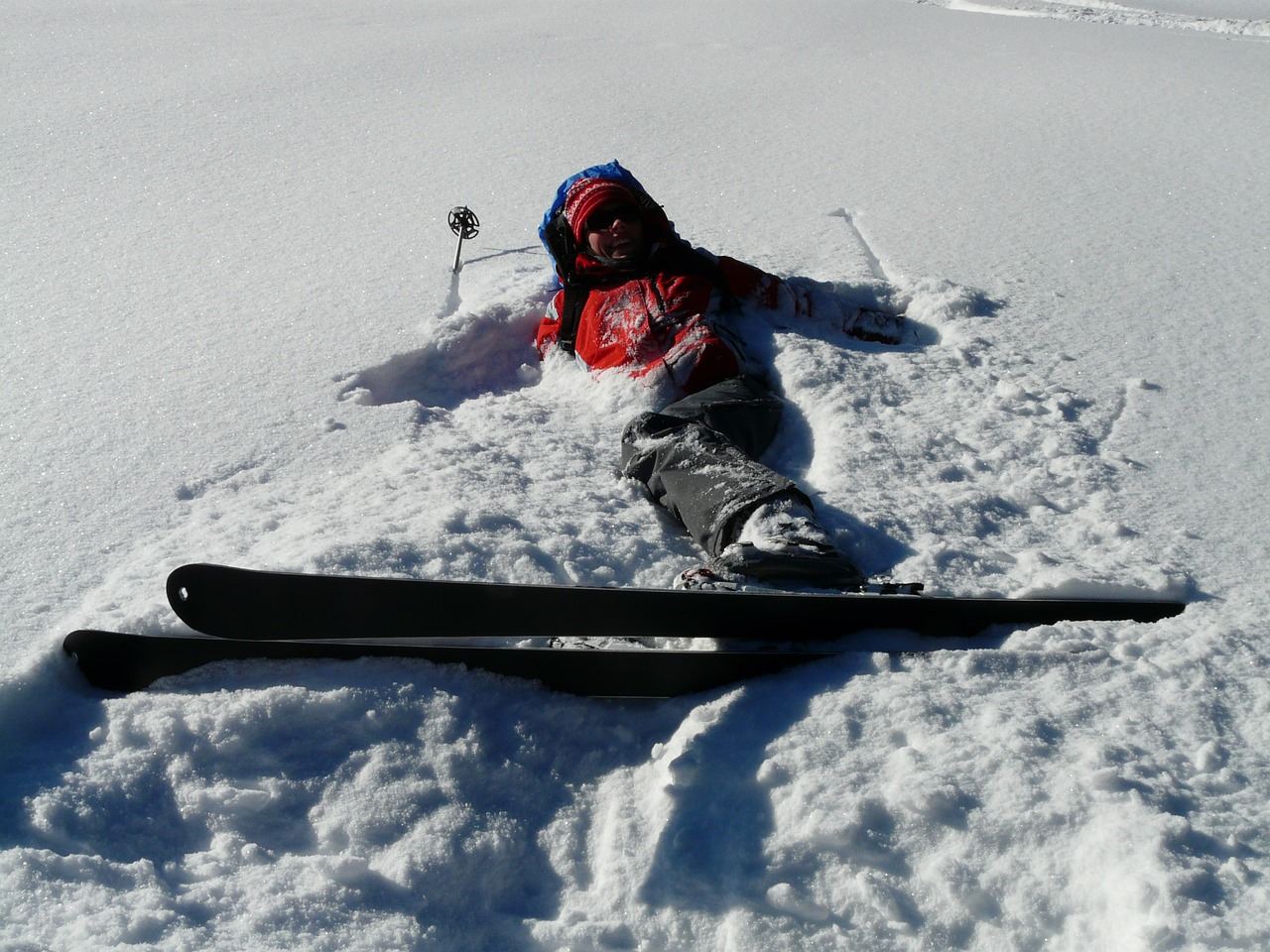 skiers relaxation relax free photo