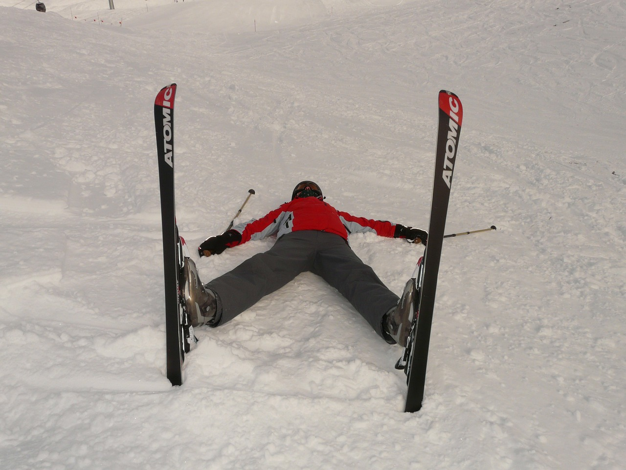 skiers tired concerns free photo