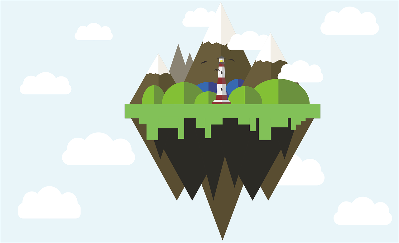 Sky,mountain,game,stage,rpg - free photo from needpix com