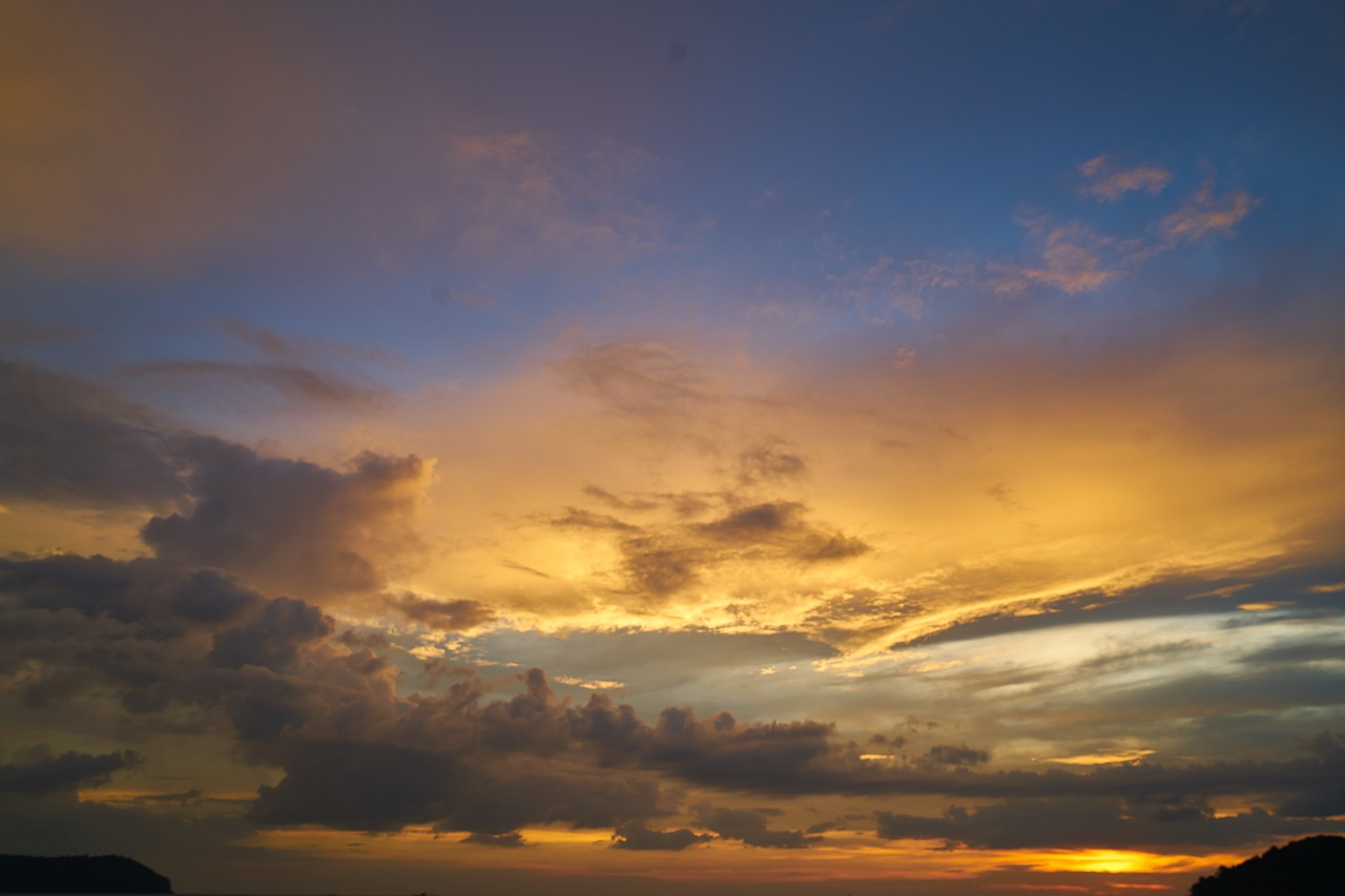 sky background landscape cloud nature free photo from