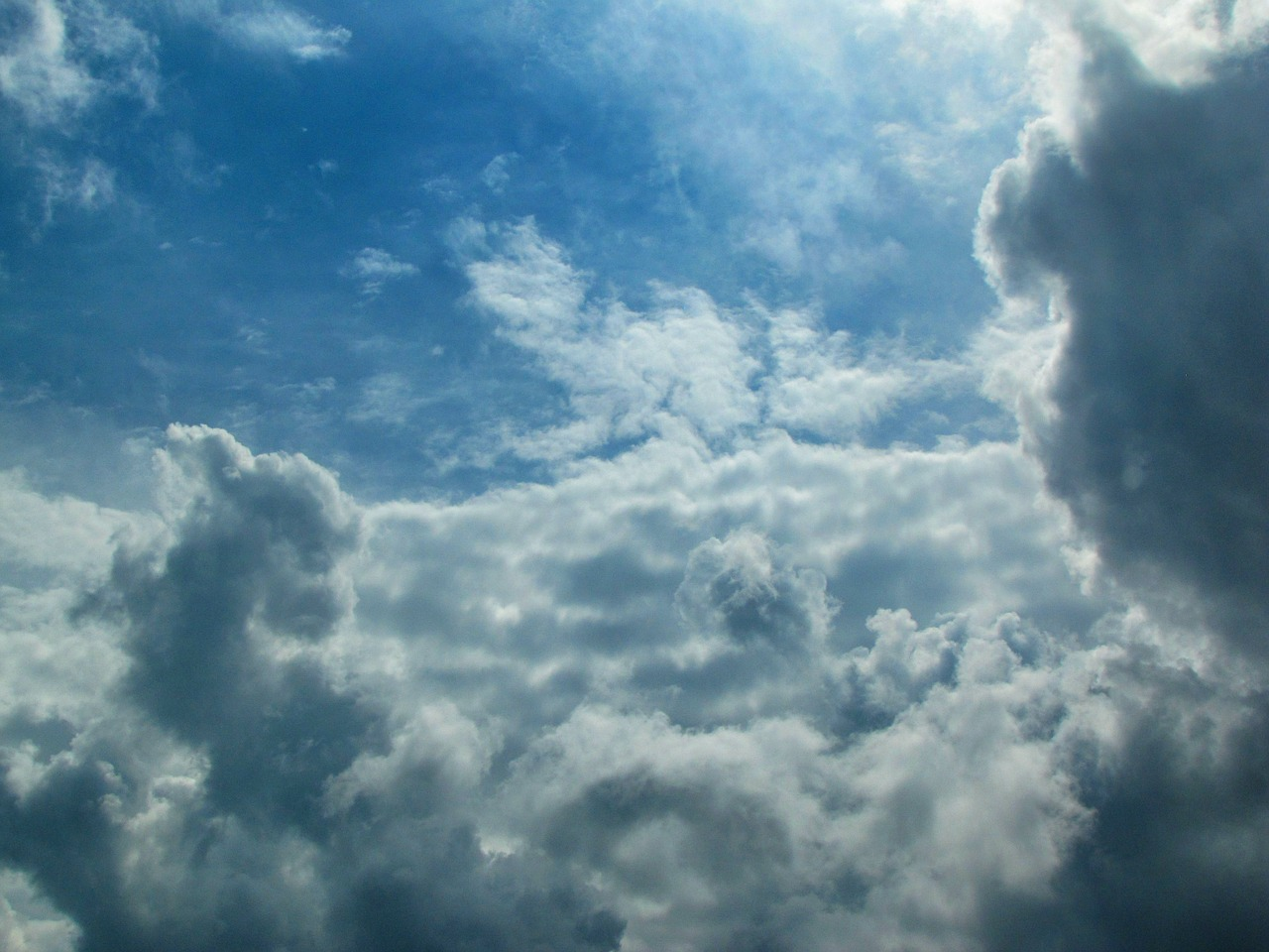 sky clouds outdoors free photo