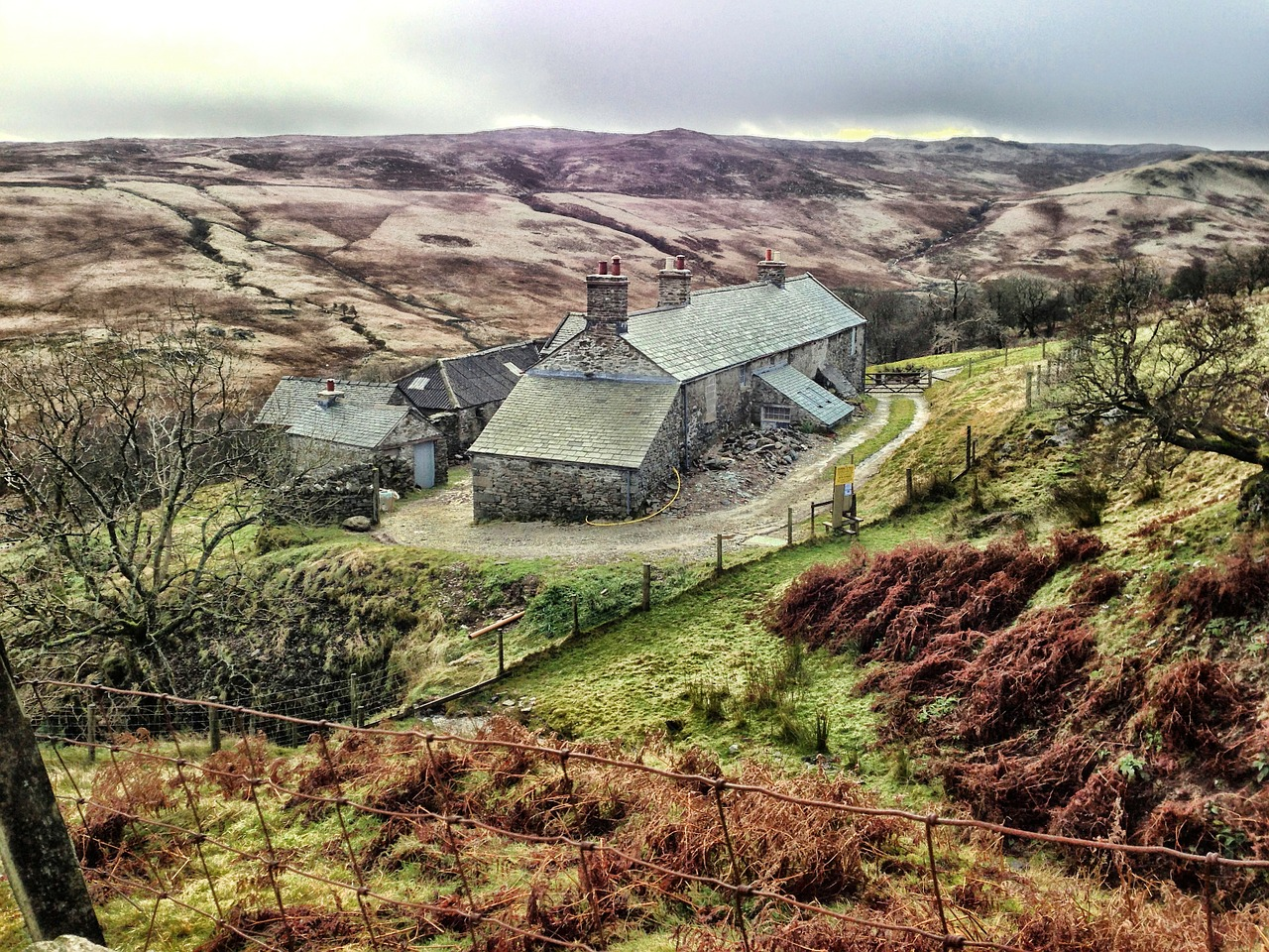 sleddale hall england united kingdom free photo