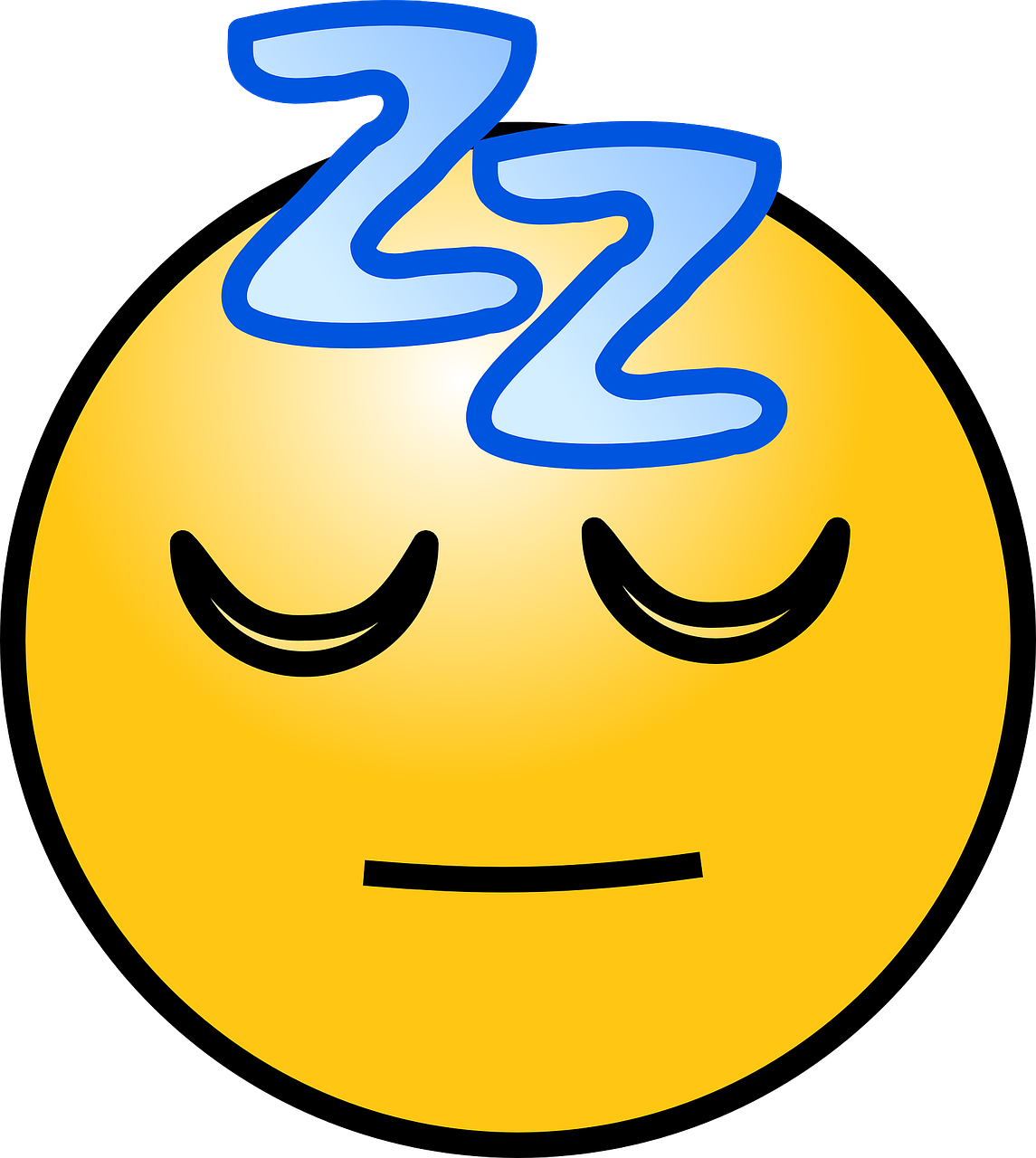 sleep sleeping emoticons free photo