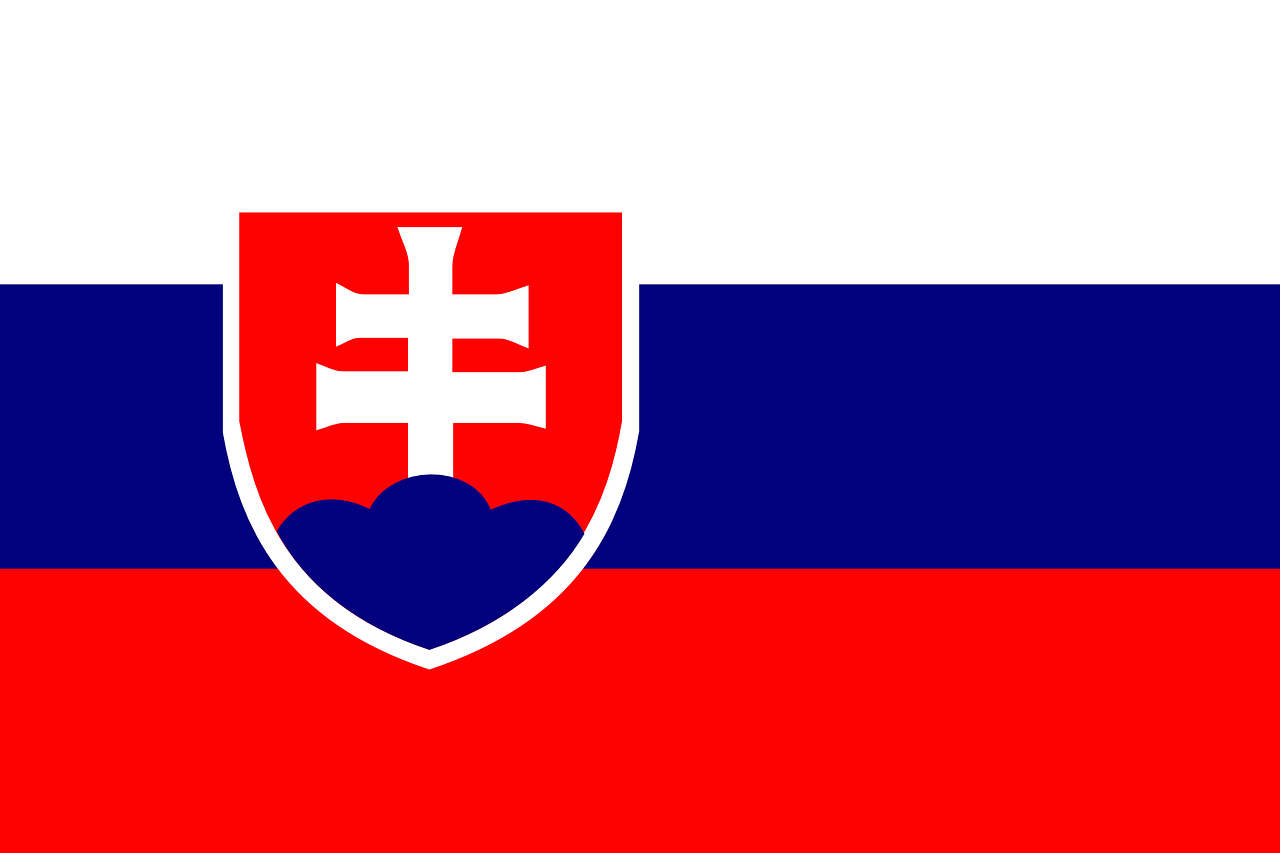 slovakia flag national free photo