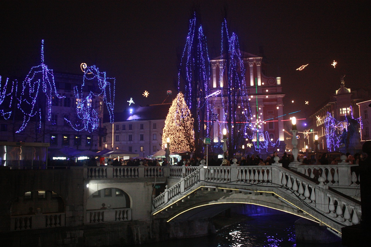 slovenia ljubljana winter free photo
