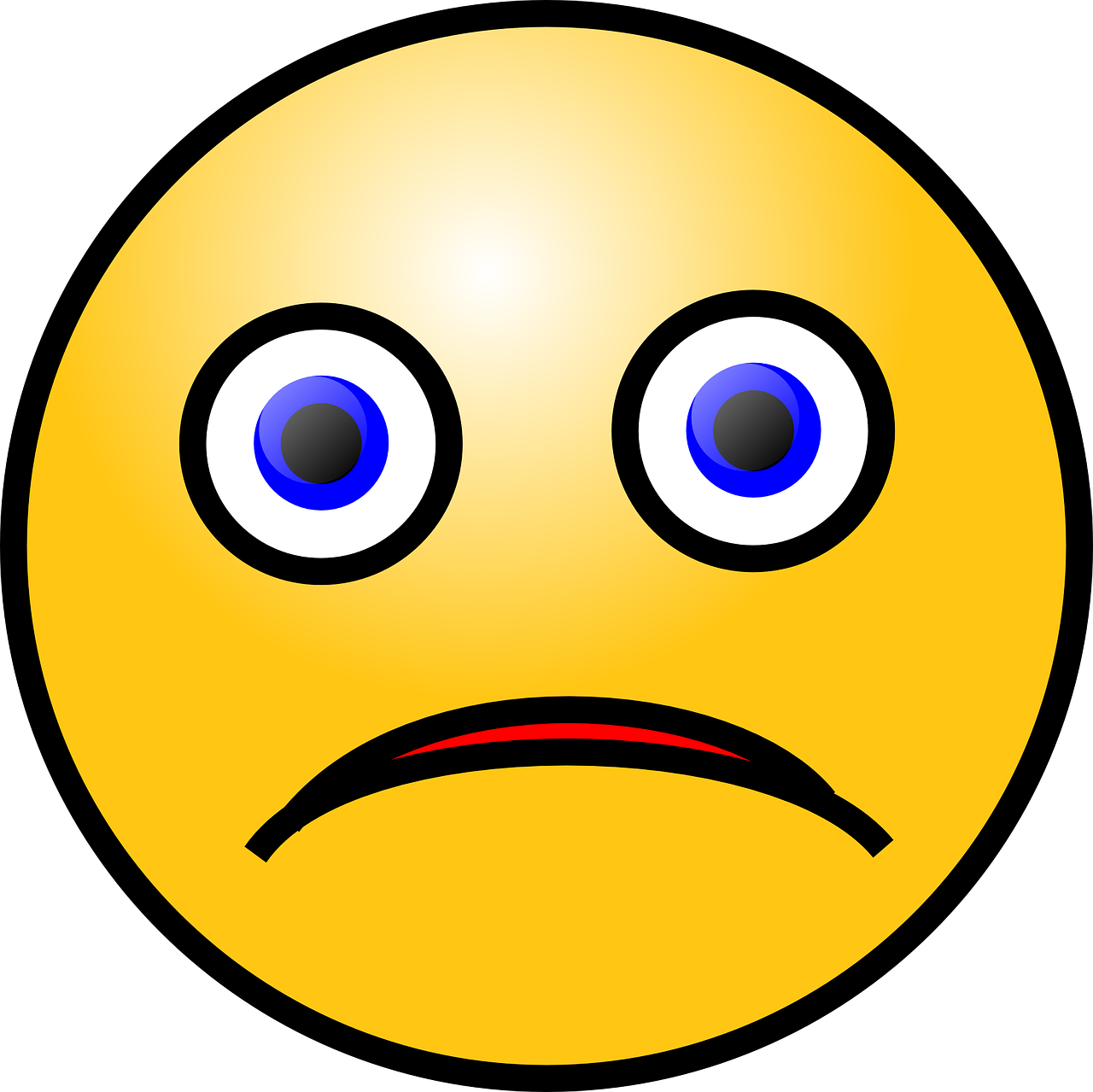 smiley sad emotions free photo