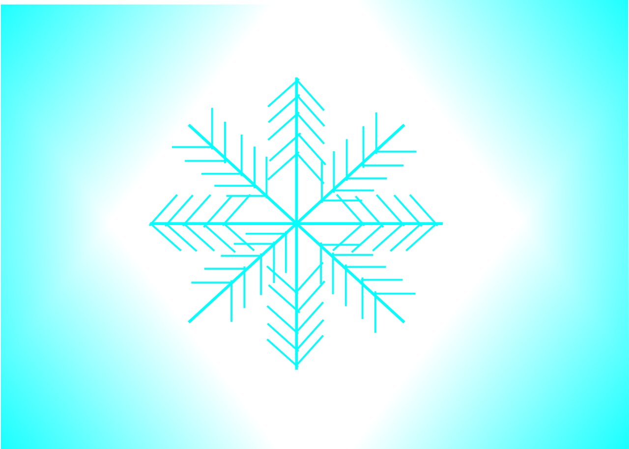 snowflake flake ice free photo