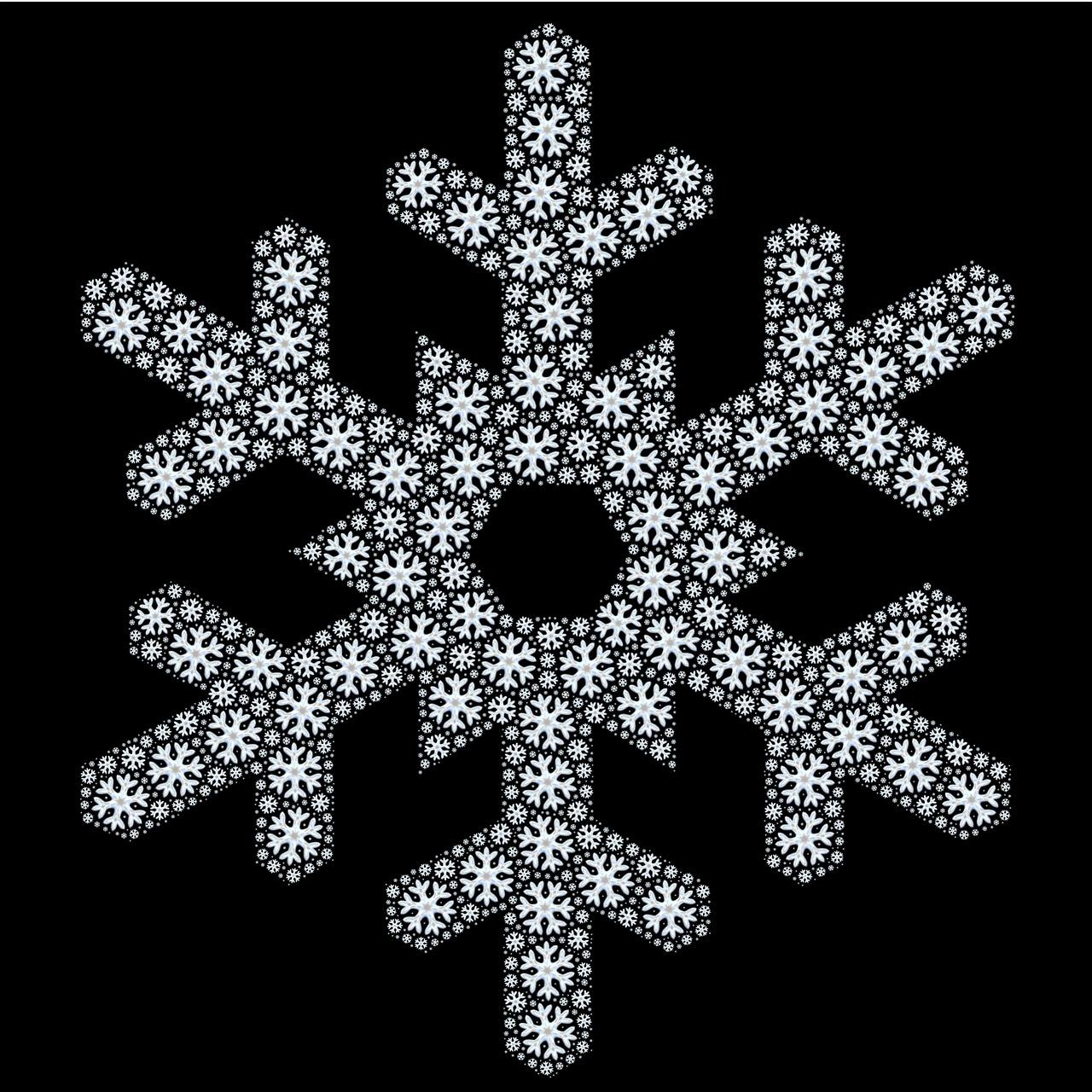 Snowflakeabstractpatternshapesnow Free Photo From Needpix