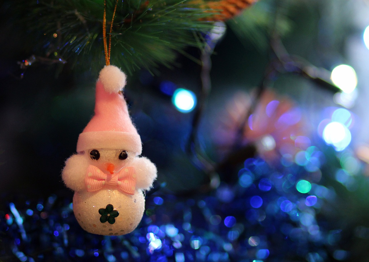 snowman decoration winter free photo