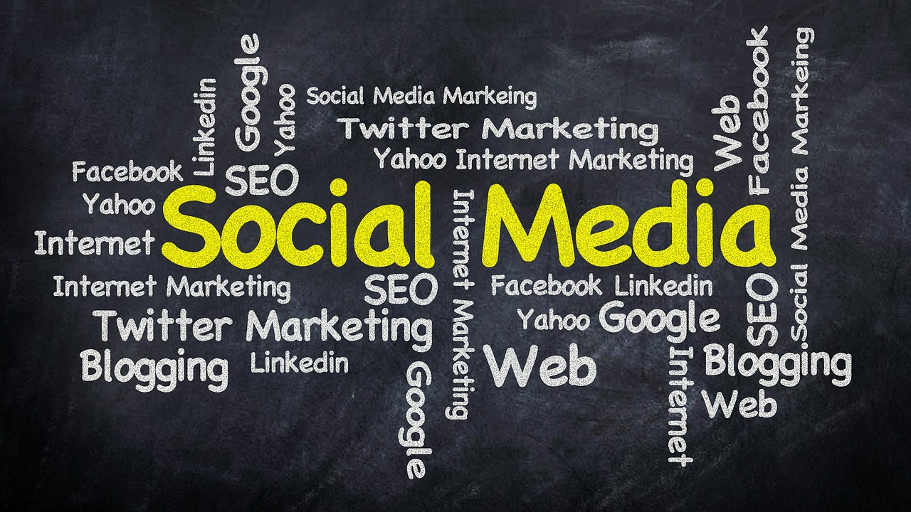 Social media,word cloud,marketing,internet,word - free image from ...