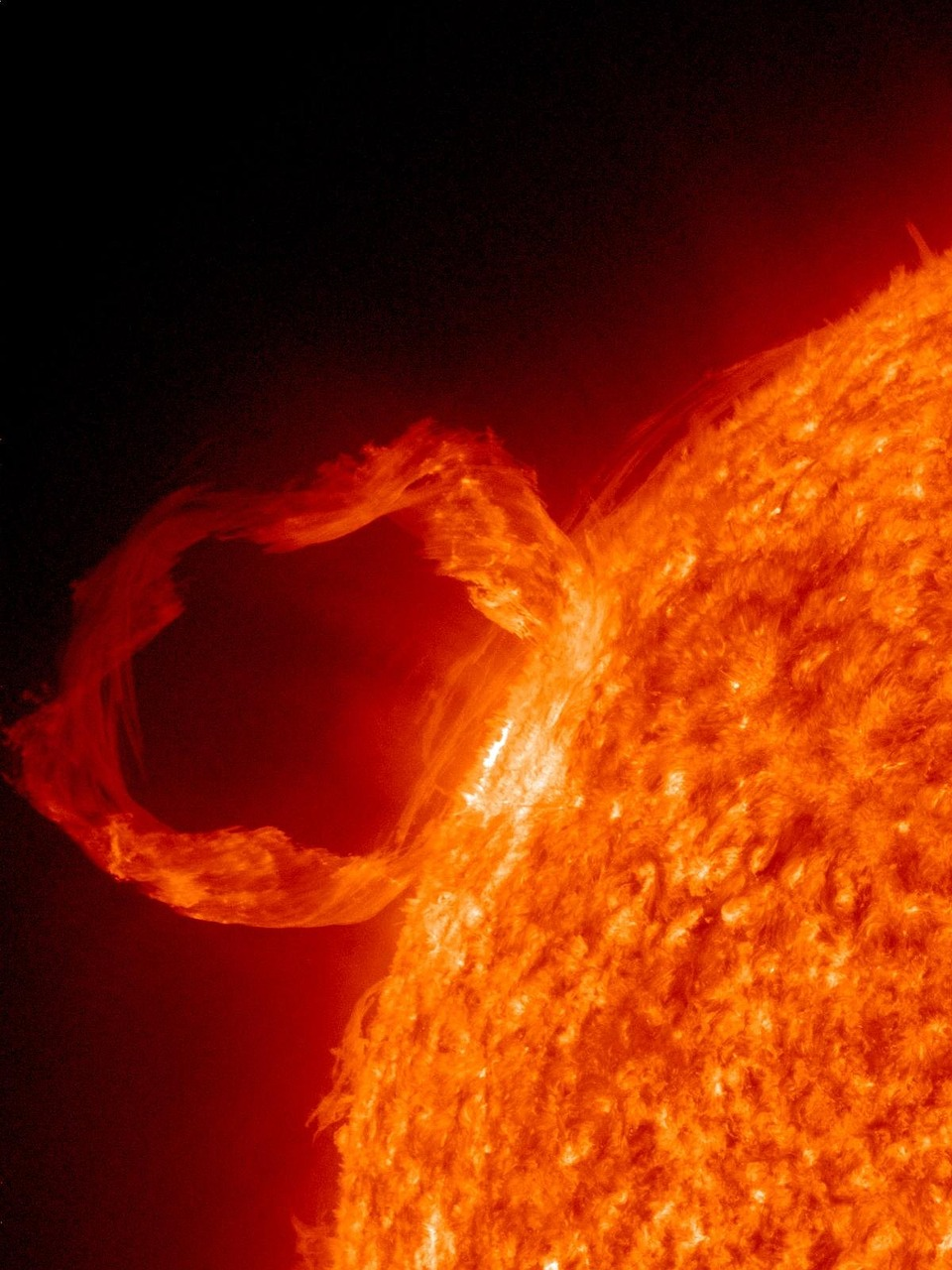 solar flare sunlight eruption free picture