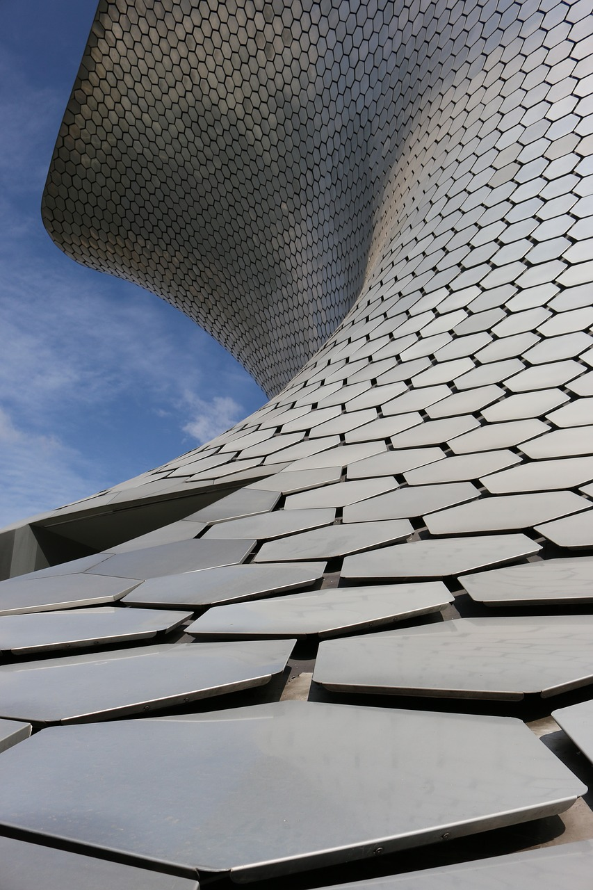 soumaya museum  mexico architecture  mexico city free photo