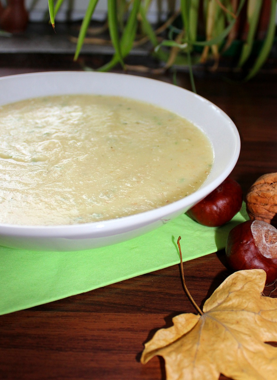soup autumn parsnip soup free photo