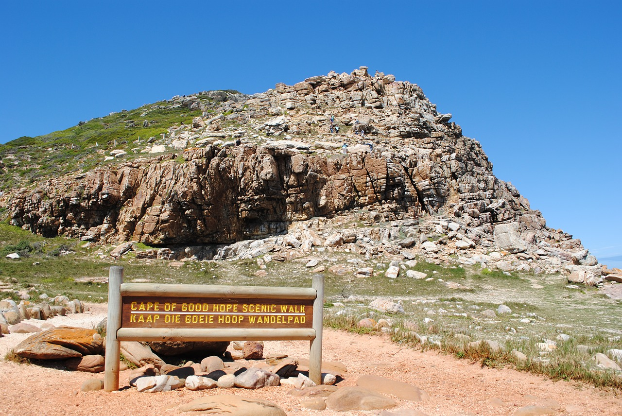 south africa cape of good hope southern tip free photo